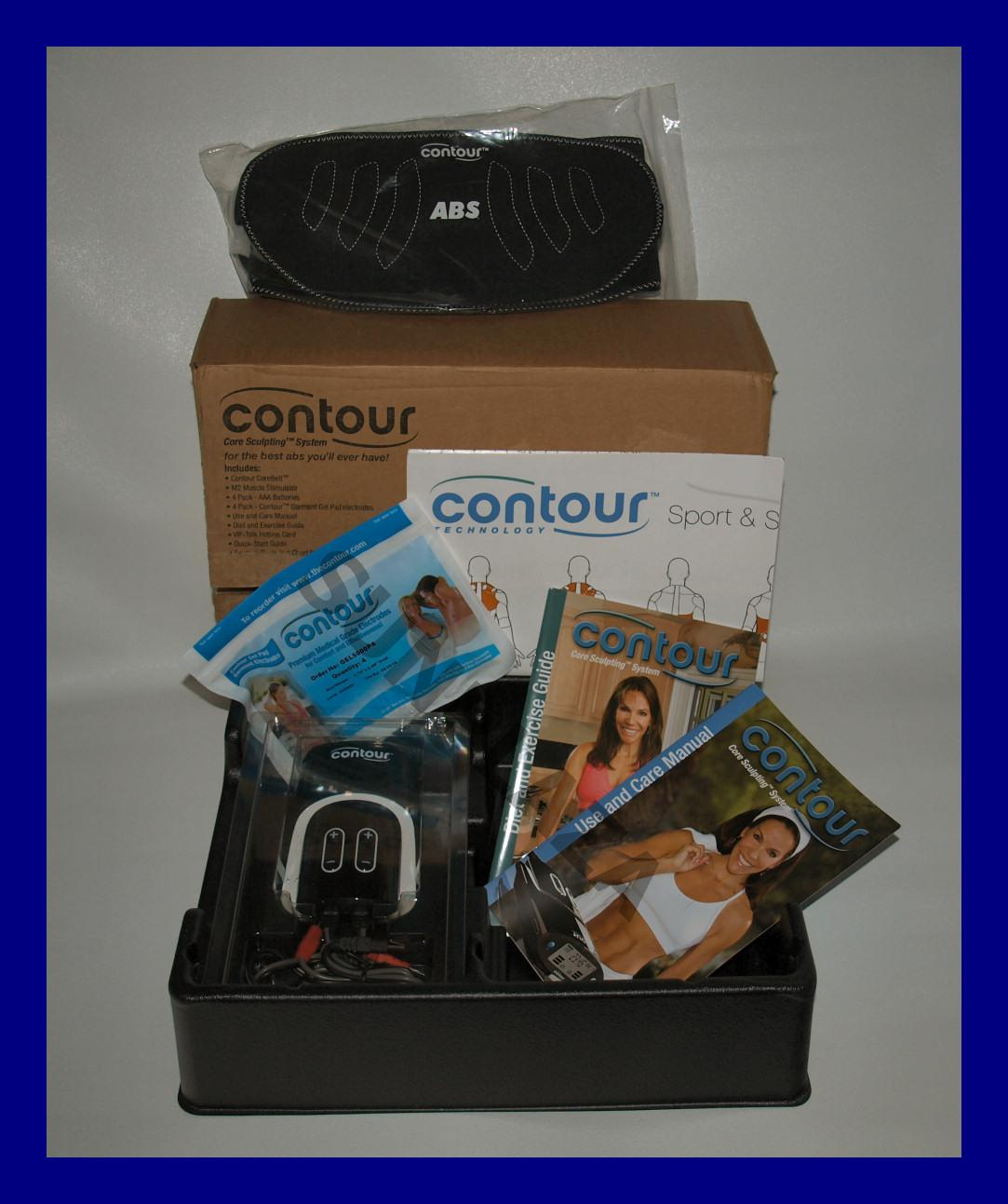 The Contour Core Sculpting System products and accessories are designed to help slim your tummy and tone your ab muscles without straining your body or even breaking a sweat.